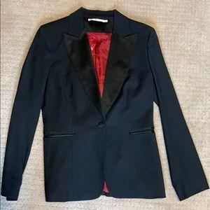 Sz 10 Tommy Hilfiger satin lapel tuxedo blazer